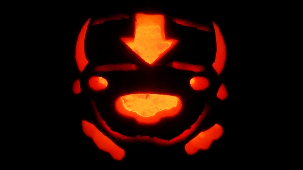 Appa pumpkin from Avatar: The Last Airbender